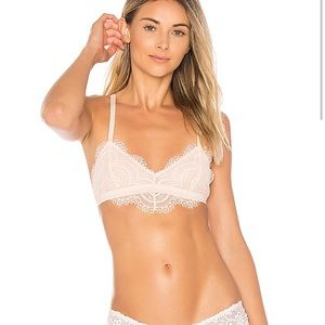 NWT Free People Swept Away Lace Bralette